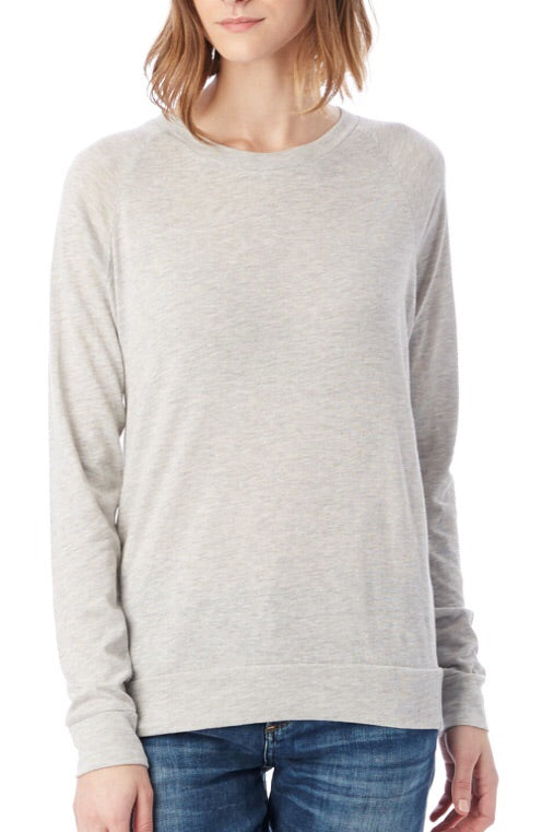 Slouchy Eco-Jersey Pullover