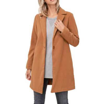 Annie Coat in Camel