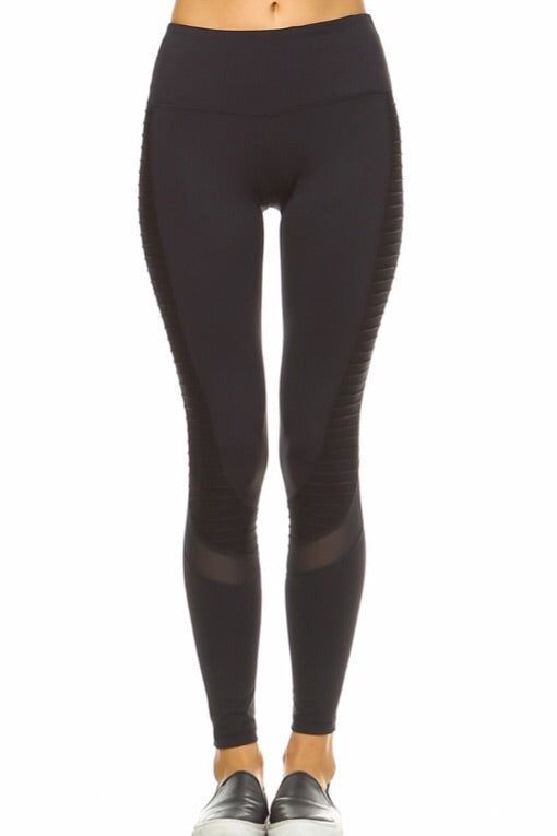 Moto Legging in Black