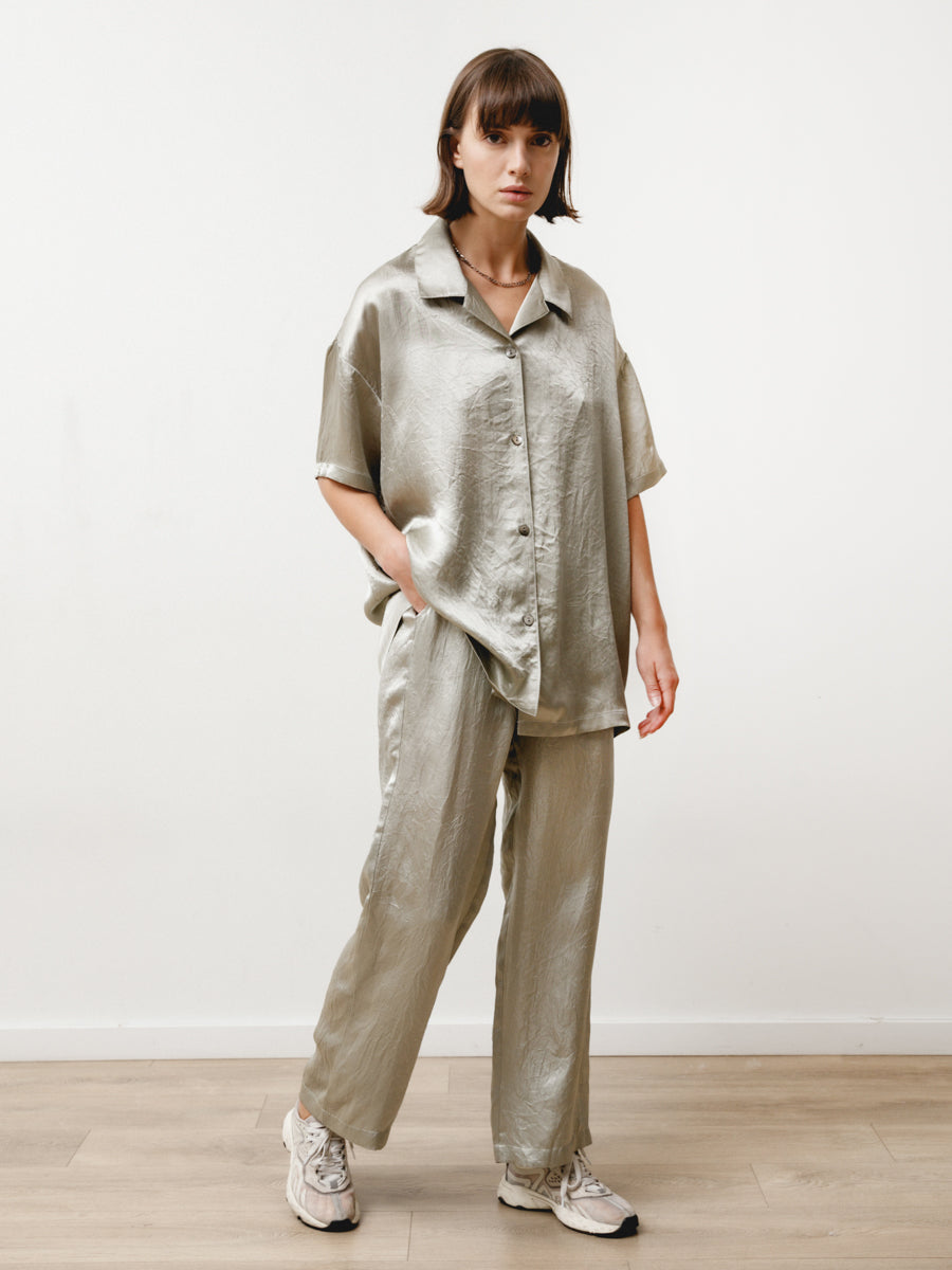 Vista Pant - Crushed Slinky Silver