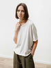 Crop Tee - Slub Jersey Natural