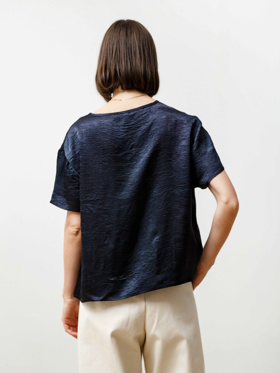 Tage Tee - Crushed Slinky Midnight