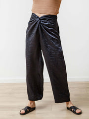 Twist Pant - Crushed Slinky Midnight