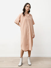 Tenn Dress - Modal Dusty Pink