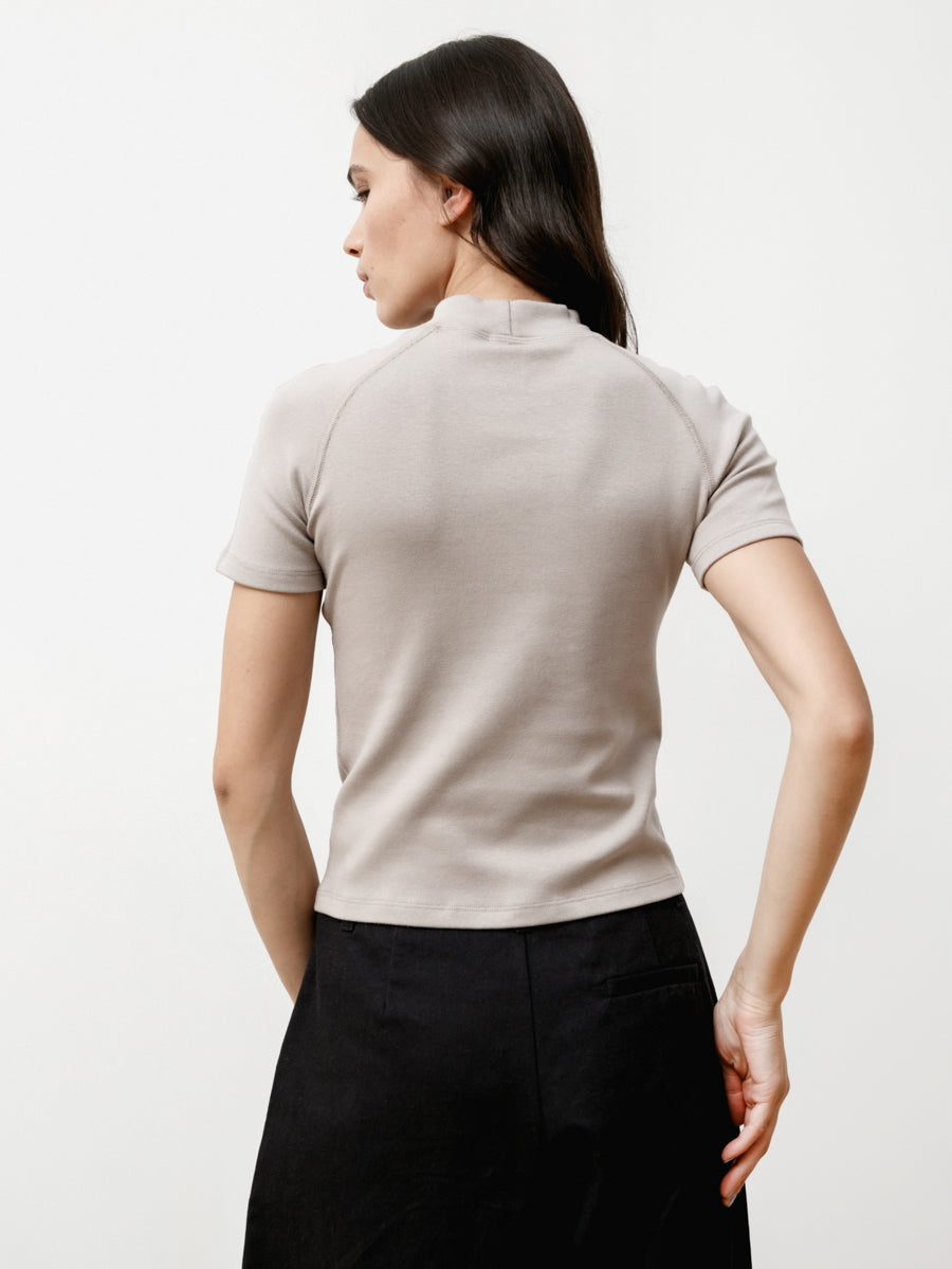 Dive Tee - Stretch Knit Slate