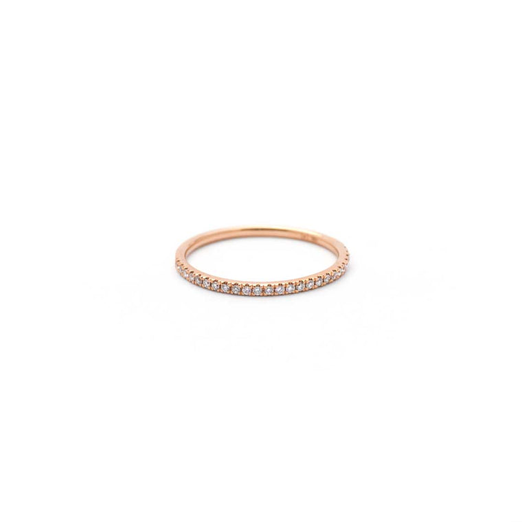 ETERNAL diamond ring in gold