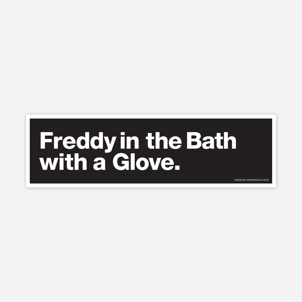 Freddy Sticker