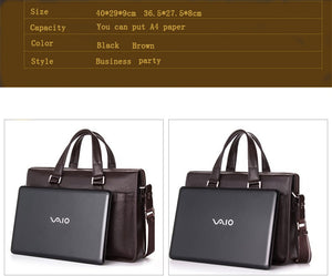 Leather Business bag  for 14 or 15.6 inch