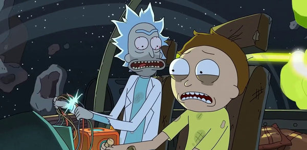 after an eventful adventure for rick and morty