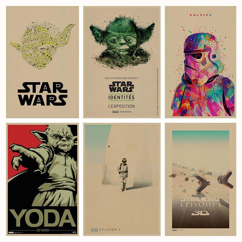 Star Wars: Episode I - The Phantom Menace retro Posters