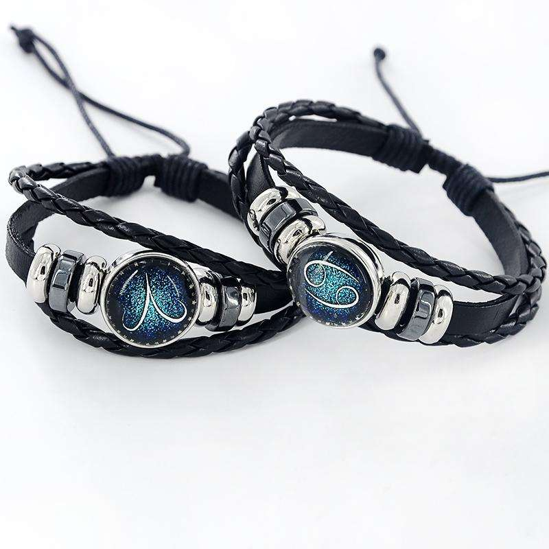 Beaded Constellation Zodiac Bracelet