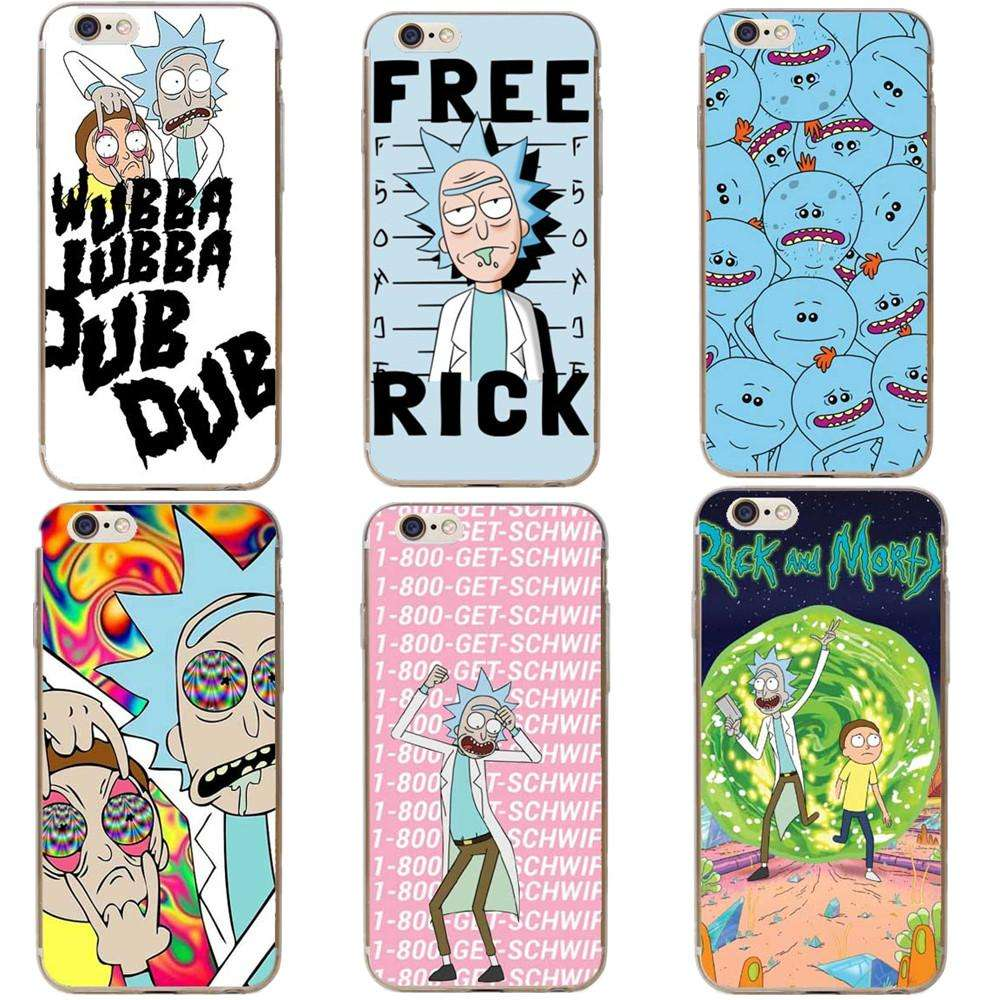 Free iPhone Rick and Morty Cases