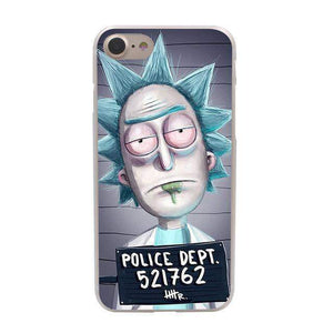 Rick and Morty iPhone Cases Pack 2