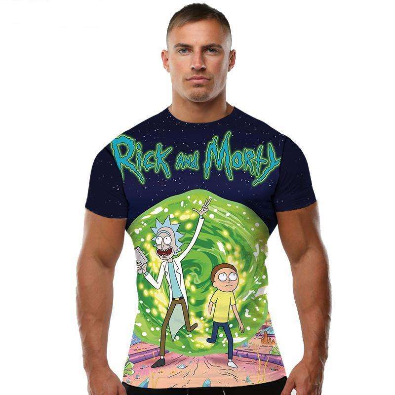 FREE TODAY Rick And Morty T Shirt