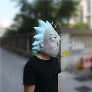 Full Head Rick and Morty Mask
