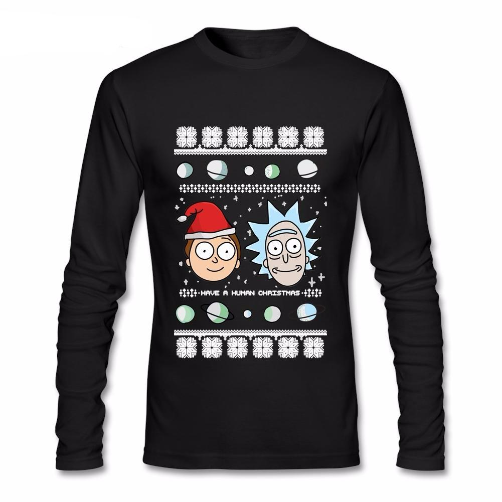 Rick and Morty Luxury Long Sleeve T-Shirt