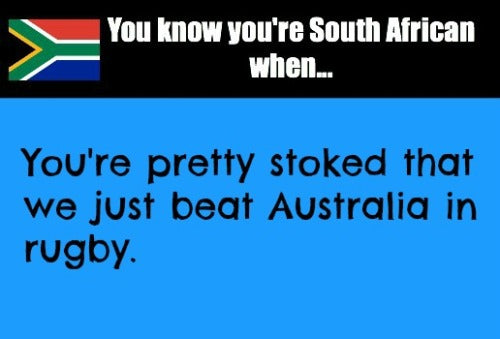 South African Beat Australia