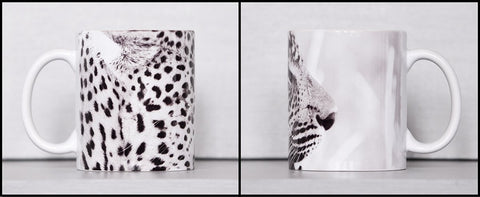 African Leopard Ceramic Coffee Mug