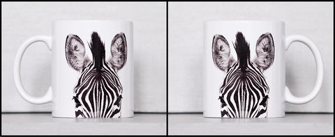 Coffee Mug BW12 Zebra