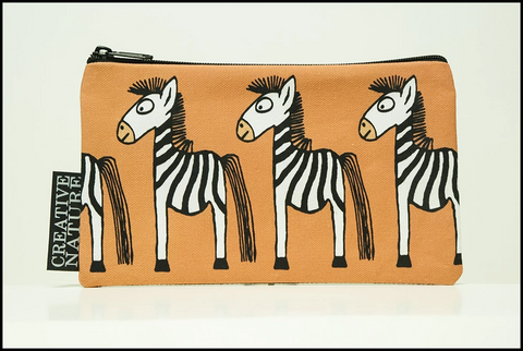 Accessory Bag Curious Creatures Zebra