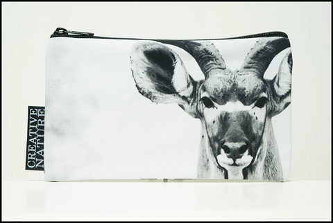 South African Greater Kudu Studio Pouch