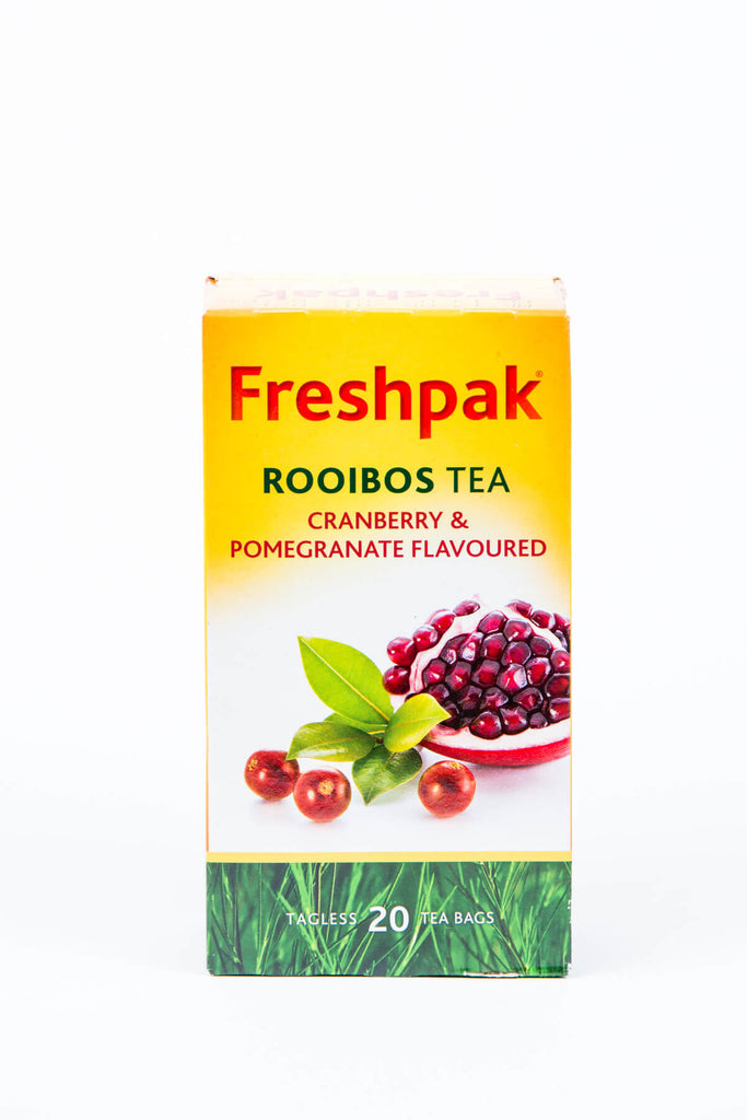 Freshpak Rooibos Cranberry and Pomegranate Tea 50g