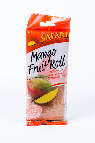 Safari Mango Fruit Roll 80g