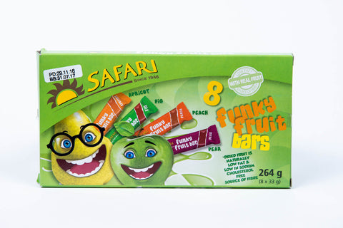 Safari Funky Fruit Bars 264g