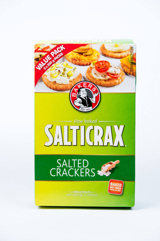 Bakers Salticrax Salted Crackers 400g
