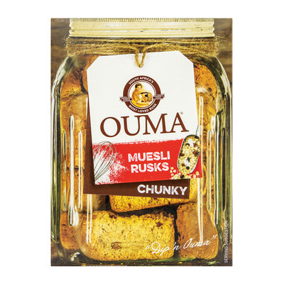 Ouma Chunky Muesli Rusks 500g(Limit 2 boxes per order)