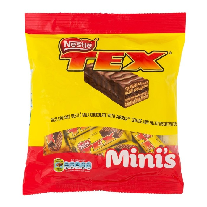 Nestle Tex Mini Bite Sized Chocolates