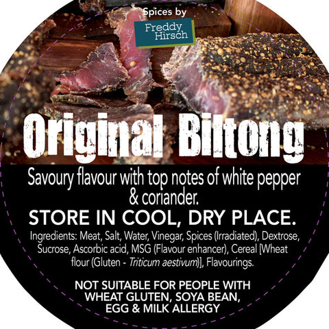 Freddy Hirsch Original Biltong Seasoning 200g