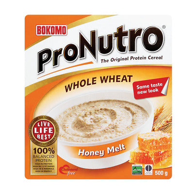 Bokomo Pronutro Wholewheat HoneyMelt Cereal 500g