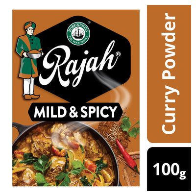 Rajah Mild & Spicy Curry Powder 100g
