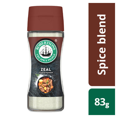 Robertsons Spice Zeal Bottle 83g