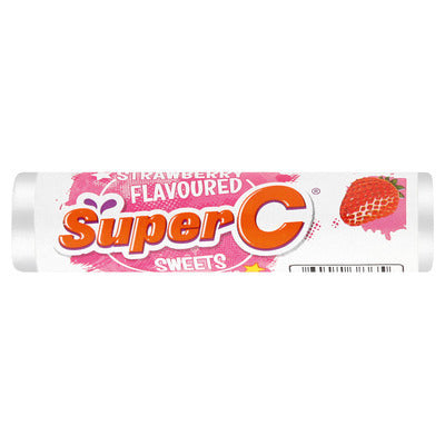 Super C Strawberry Roll Candy