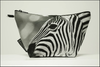 Triangle Toiletry Bag Black and White Collection