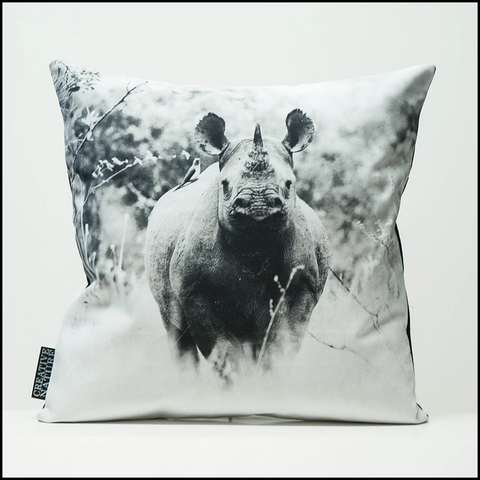Cushion Cover SC BW 26 Black Rhino