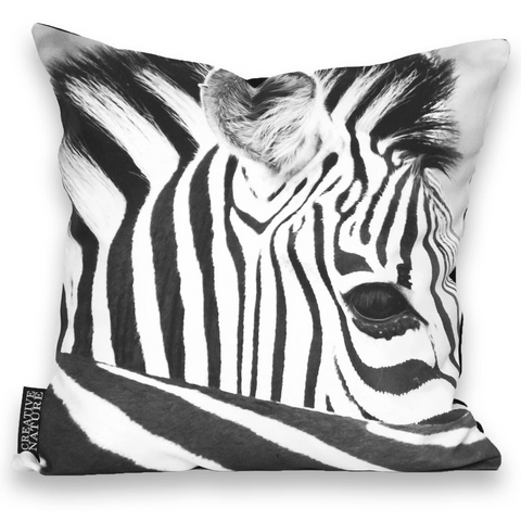 Cushion Cover SC BW 20 Zebra