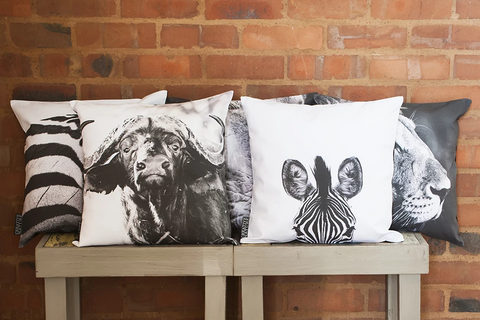 Cushion Cover SC BW 06 African Elephant