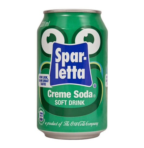 Sparletta Creme Soda 300ml Can x 6