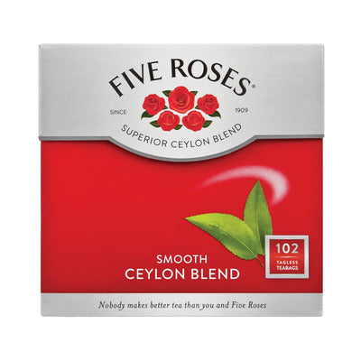 Five Roses Tagless Teabags 100s