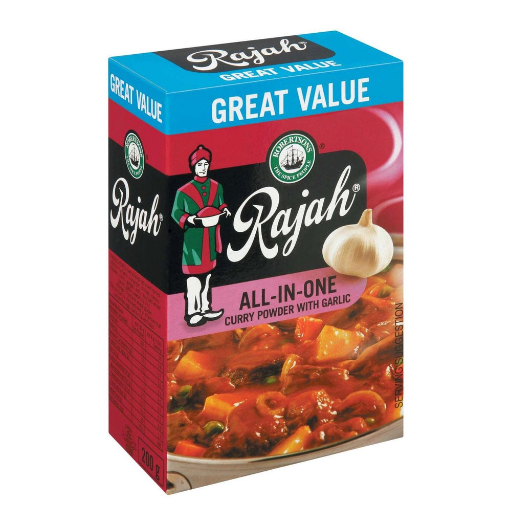 Robertson's Rajah All-in-One Masala with Garlic Spice 200g