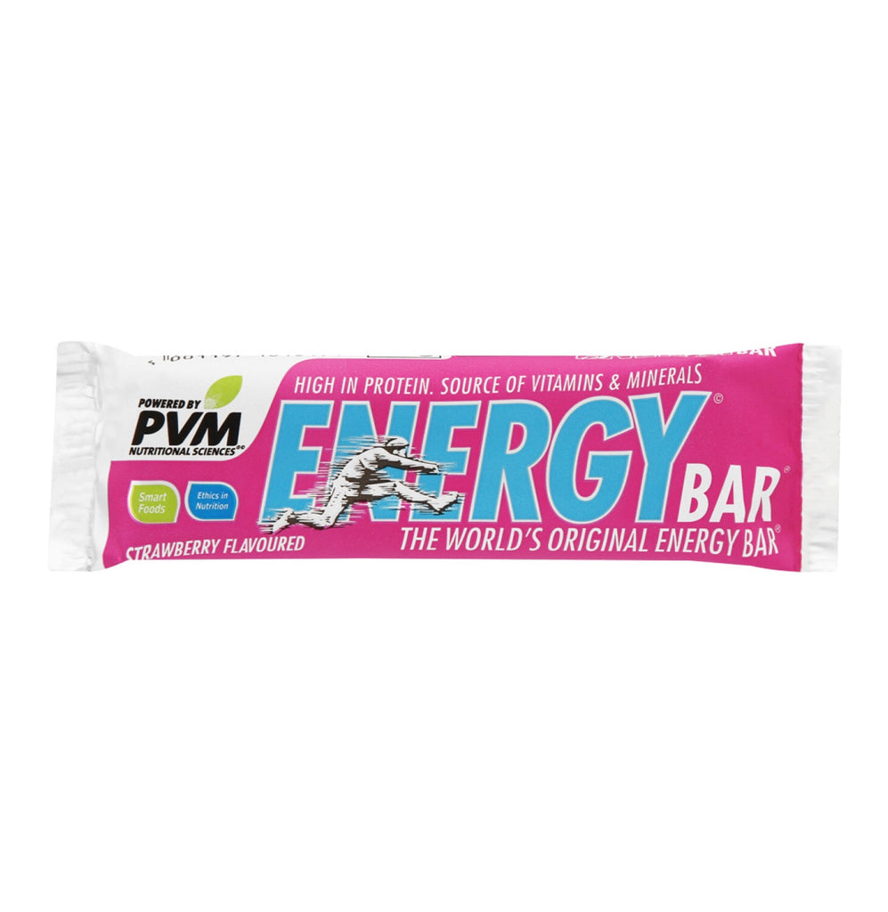 PVM Energy Bars Strawberry (20 x 45g)