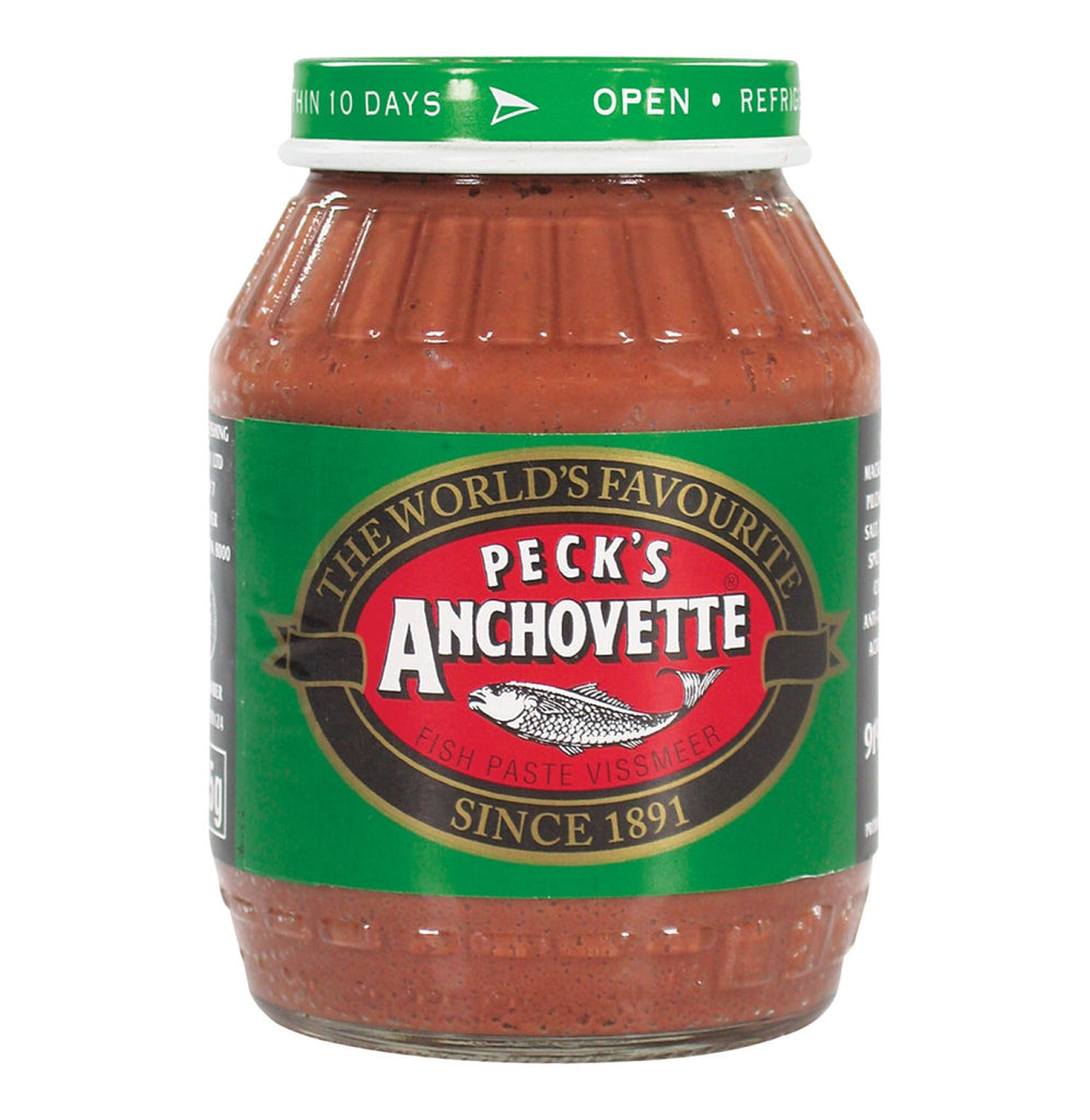 Pecks Anchovette Fish Paste (Kosher) 125g