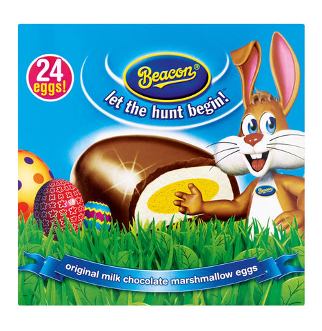 BEACON Easter Mallow Eggs Milk Chocolate (1 x 24's)