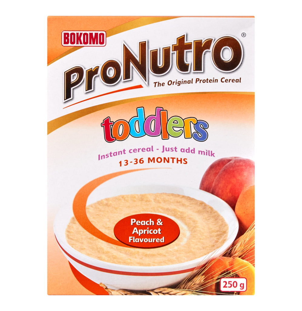 PRONUTRO Toddler Cereal Peach & Apricot 250g