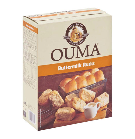 Ouma Rusk  Buttermilk Chunky 500g(Limit x2 boxes per order)