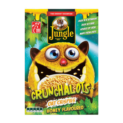 Jungle Crunchalots Cereal Honey 375 GR