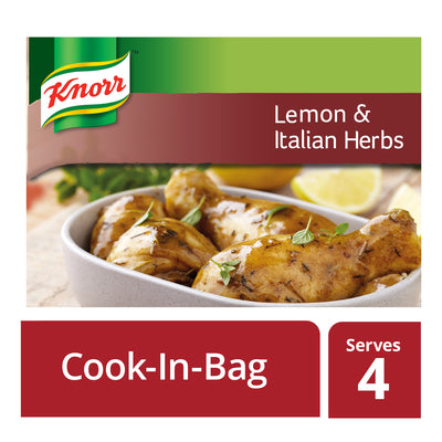 Knorr Cook In Bag Lemon & Italian Herbs 35g